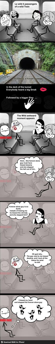 Troll level .... forever alone guy