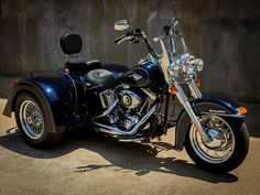 Spartan IRS Motor Trike Conversion For Harley Soft tail