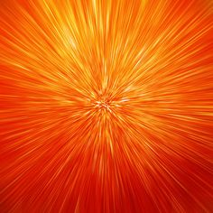 burst of orange...but could be done with any primary colors