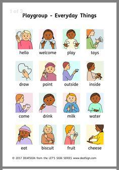 Baby Sign Language Chart, Sms Language, Sign Language Phrases, Sign Language Alphabet, Learn Sign Language, American Sign Language, Learning Asl, Teaching, Baby Asl