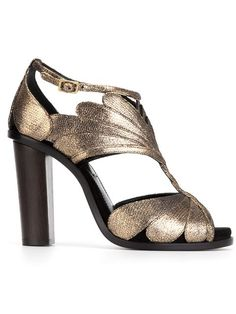 Shop Lanvin metallic sandals in Torregrossa from the world's best independent boutiques at farfetch.com. Shop 300 boutiques at one address.