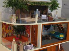 modern dollhouse from Modern Mini Houses