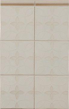 Motif Pattern C in Colorfill 1 - contemporary - Tile - Portland - Pratt and Larson Ceramics