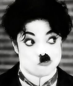 haha :) charlie chaplin and mj forever in my heart <3