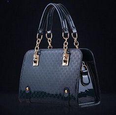 iCeinnight Trunk Women Leather Handbag Long Belt Shoulder Bags Plaid Chain Bag Single Luxury Designer Handbags bolsas