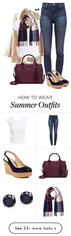 "Collection Of Summer Styles    ""Sweet Cheeks Summer's Leaving…"" by zavijava on Polyvore featuring J Brand, Stuart Weitzman, Lipsy and MICHAEL Michael Kors    - #Outfits"