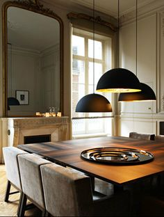 Feast your eyes on this Paris apartment designed by Karl Fournier and Olivier Marty of the architectural firm Studio Ko.