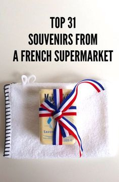 Top 31 French Supermarket Souvenirs to Buy at Monoprix My favorite place to shop for souvenirs is foreign supermarkets-- and there's nowhere better than a French grocery store-- the Monoprix in Paris, for french soaps, sponges, mustards, foie gras and Oh Paris, I Love Paris, Paris 2015, Paris Travel, France Travel, Travel Europe, Paris Packing, Germany Travel, Eurotrip