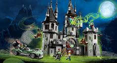 Vampyre Castle from Lego, where was this set when I was young? Oh well, I'll just have to play with it now ;)