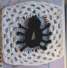 20 Terrific FREE Crochet Patterns for Practicing Tall Stitches: Spider Dishcloth Free Crochet Pattern