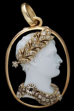 "napoleon-bonaparte : "" Cameo of Napoleon I made by Nicola Morelli """