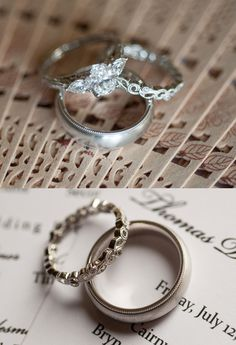 Gorgeous ring shots from our clients, Jacqueline and Thomas, on their #wedding day.