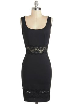 Fab Fun-raising Dress, #ModCloth little black dress $55