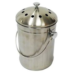 Compost Wizard Kitchen Accents   Stainless Steel Kitchen Composter