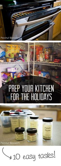 10 easy tasks to get your kitchen ready before the busy holiday season hits.