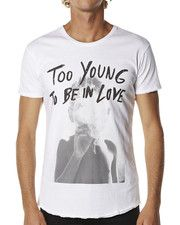 DEATH BY ZERO TOO YOUNG TEE - WHITE on http://www.surfstitch.com