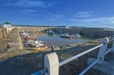 Old Porthcawl harbour, Porthcawl, South Wales