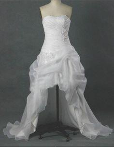 organza_strapless_short_front_long_back_wedding_dress_white_for_bride_stylish.jpg 504×651 pixels