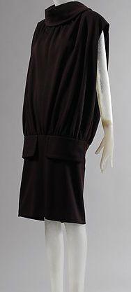 Balenciaga - Vintage - Robe 'Col Boule' - 1955-56