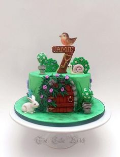 Secret Garden - Cake by Nessie - The Cake Witch