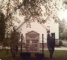 Alden, NY Mennonite Church.  I grew up in this church!
