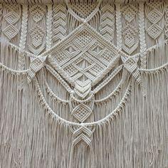 PETRA. Macrame wall hanging tapestry