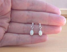 925 White Opal Earrings/Sterling Silver White Opal Earrings/Opal Jewellery/Opal Jewelry/Opal Jewelery/Opal Stud Earrings/October Birthstone by joannasjewellerycouk on Etsy https://www.etsy.com/listing/226526530/925-white-opal-earringssterling-silver