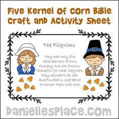 15 Best Thanksgiving Sunday School Lessons For Children Images On