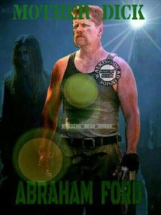 "Abraham ""Michael Cudlitz"" The Walking Dead S5E14  ""Spend"""