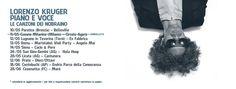Domenica 28 maggio a #Licata, in #PiazzaElena, le #canzoni e l'essenza dei #Nobraino, in una singolare esibizione #voce e #piano di #LorenzoKruger. #musica #eventi #live #piano #voce
