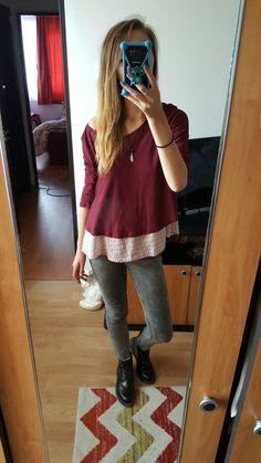 #fancy #burgundy #boots