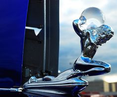 A classic hood ornament from Jim Freed | Flickr Contact