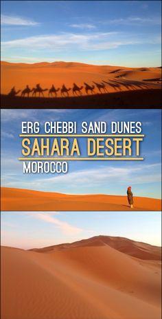 Erg Chebbi Sand Dunes, Sahara Desert, Morocco www.mismatchedpassports.com