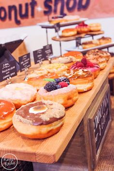 Gourmet Donuts from The Donut Snob