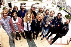 Le Team #Winamax et les WIP au départ de l'EPT Deauville. #poker