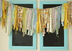 darling rag banner via sunshine and carousels