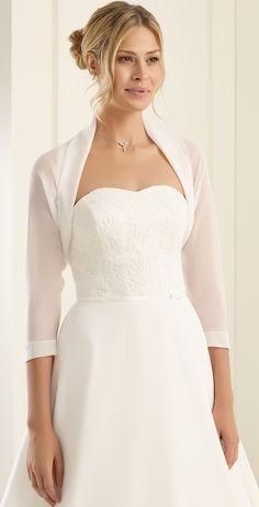 39526ac992cb Elegant bolero E197 from Bianco Evento  biancoevento  bolero  weddingdress   weddingideas  bridetobe