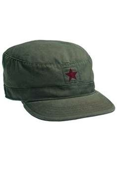 a3fa8f55839 OD w China Star Vintage Military Fatigue Cap ! Buy Now at  gorillasurplus.com Military