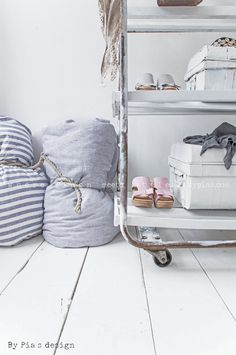 HANKO Linen Duvet, SMALL STRIPES - BY PIA´S HOME - By Pia's Design