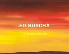 Ed Ruscha and the Great American West Buch versandkostenfrei - Weltbild. Coffee Table Art Books, Building Facade, American, Billboard, Growing Up, Coloring Books, Book Art, Pop Culture, Cool Things To Buy
