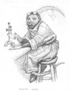 Ephaniah Grebe from Septimus Heap