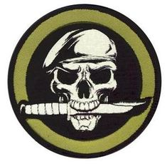 New Rothco 72194 Military Skull w Knife Morale Patch w Hook Back 3 25 Round | eBay