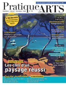 Pratique des Arts 158 - Les clés d'un paysage réussi Fine Art Paintings, Watercolor Painting, Landscape
