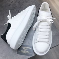 Alexander McQueen Extended Sole Sneaker White W/Black (womens) – louis vuitton shoes sneakers Lv Sneakers, Louis Vuitton Shoes Sneakers, Brown Sneakers, Alexander Mcqueen Baskets, Alexander Mcqueen Oversized Sneakers, Dresses With Tennis Shoes, Versace, Orange Shoes, Dream Shoes