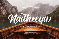 Nadheeya Script (Font) by Tapink.Co · Creative Fabrica Christmas Fonts, Handwritten Script Font, Site Website, Brush Font, Handwriting Fonts, Premium Fonts, All Fonts, Punctuation, Letterhead