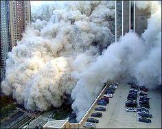 September 11 - The deadly dust cloud roars through downtown Manhattan