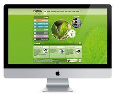 Flotec - Web & Corporate Design by idna - Creative Agency , via Behance