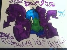 Summer, 2012 #Graffiti #Summer #Bak #StreetArt