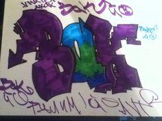 Summer, 2012 #Graffiti #Summer #Bak #StreetArt