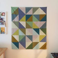 Ready for quilting! I wish I could do this all day, every day.